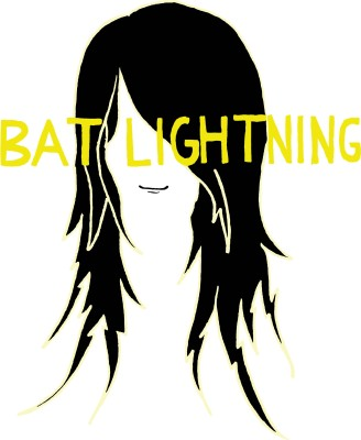 bat lightning vector